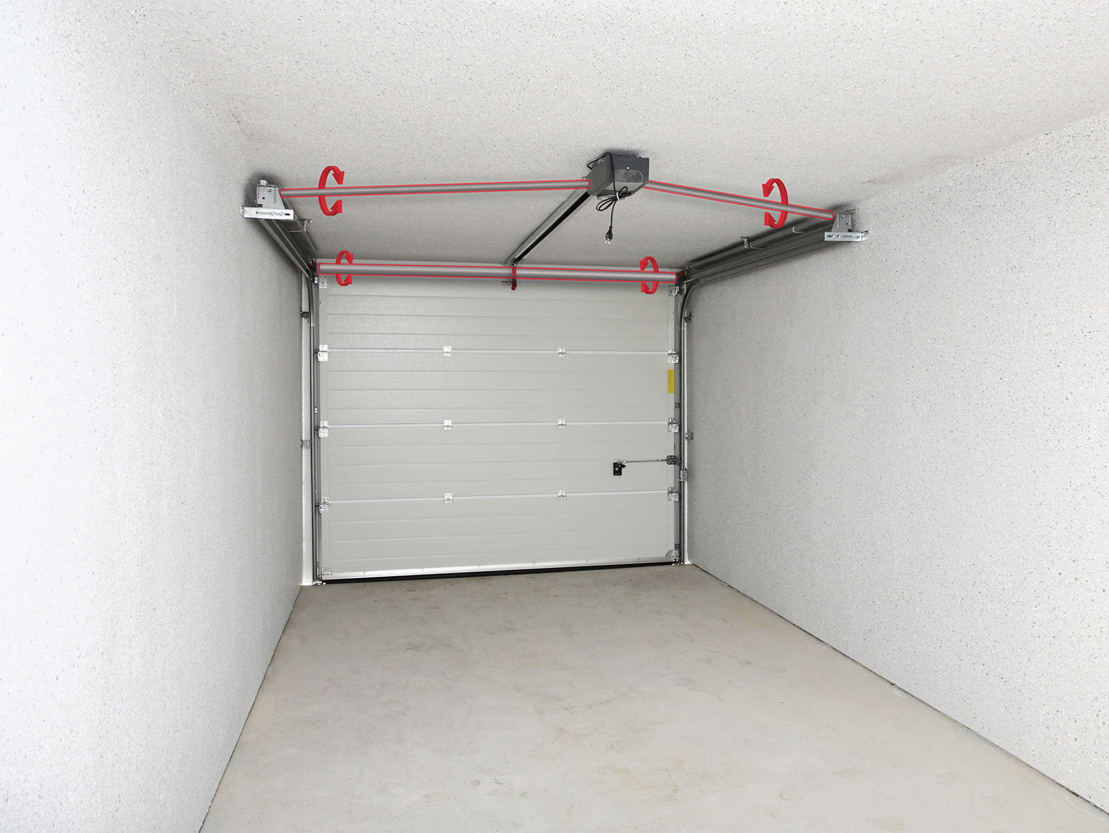 installer des ressorts de torsion porte de garage