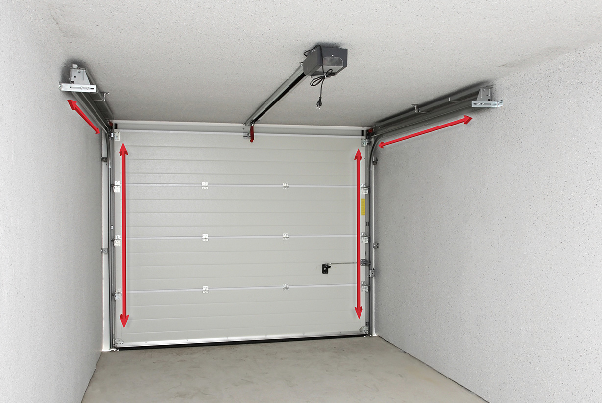 installer des ressorts de porte de garage de torsion